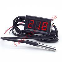 Цифровой термометр с выносным датчиком -55...+125 °С, фото 1