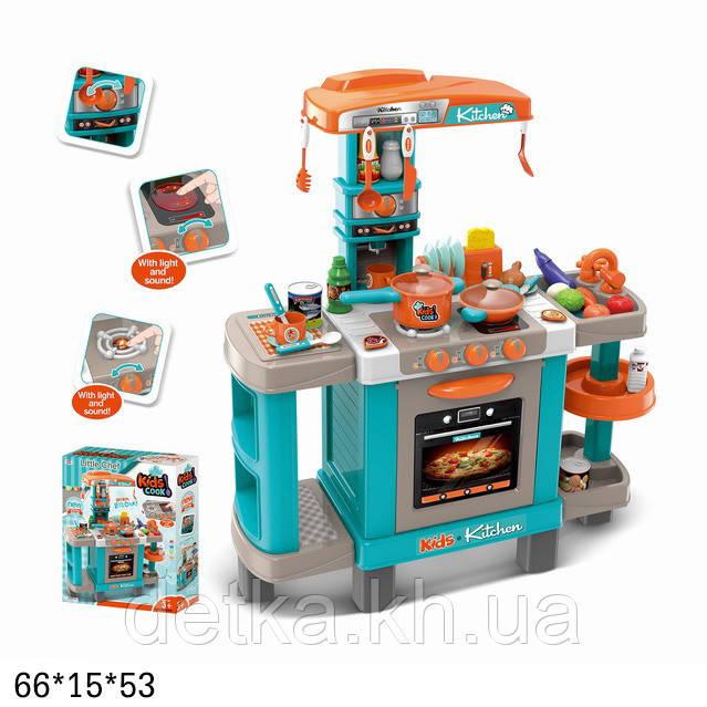 Кухня Детская с Посудой Звуковые и Световые Эффекты 008-938A