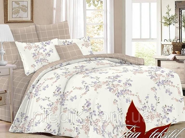 Постільна білизна двоспальне 180х220 поплін TAG SL327