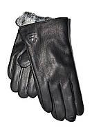 Чоловічі рукавички шкіра оленя на махре оптом
