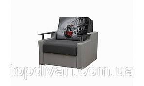 """Крісло Мікс (Розкладне) 70 см ширина спального місця """"GREY"""" SKY"""