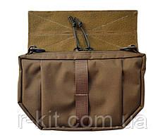 Напашная сумка для бронежилетов Coyote