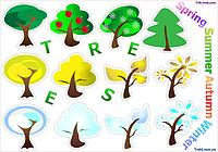 Деревья - 4 сезона от Трик-Трек