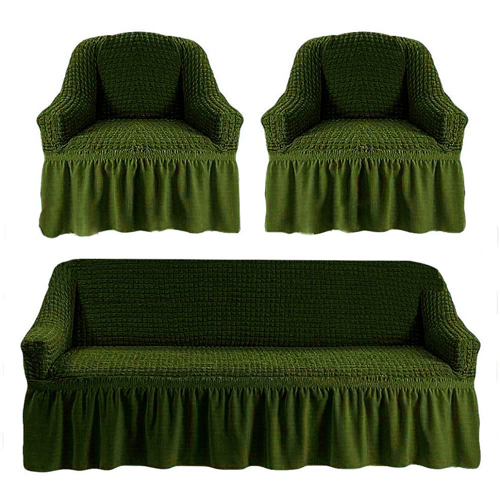Комплект чехлов для мягкой мебели Love You (181106)