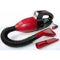 Пылесос автомобильный с фонарем Vacuum Cleaner