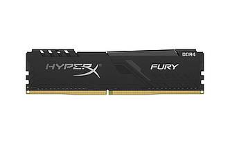 Модуль памяти DDR4 8GB/3200 Kingston HyperX Fury Black (HX432C16FB3/8)