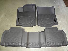 Mercedes ML 2012+ W166 W 166 коврики напольные передние задние серые резиновые новые оригинал