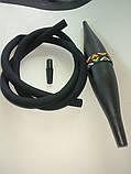 Силиконовый  шланг  коннектор мундштук + охладитель базука для Кальяна, фото 2