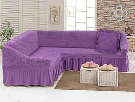 Чехол для углового дивана с декоративной подушкой Love You (198041)