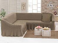 Чехол для углового дивана с декоративной подушкой Love You (198037)