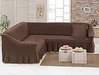 Чехол для углового дивана с декоративной подушкой Love You (198038)