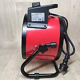 Тепловая пушка Crown 3,0 кВт с керамическим нагревателем, Тепловентилятор обогреватель, фото 3