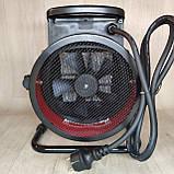 Тепловая пушка Crown 3,0 кВт с керамическим нагревателем, Тепловентилятор обогреватель, фото 4