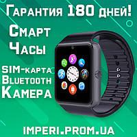 Умные часы с Bluetooth Smart Watch Смарт Вотч / Смарт часы телефон аналог Apple Watch'
