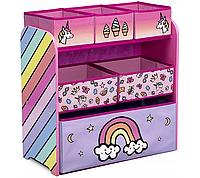 Органайзер для детских игрушек Global Rainbow dreams