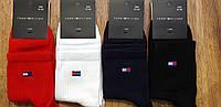 """Чоловічі високі шкарпетки в стилі """"Tommy Helfiger"""", Туреччина 41-45, фото 1"""