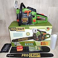 Бензопила Procraft K450L, фото 1