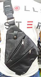 Водонепроникна сумка протикрадій на одне плече Cross Body (чорна)