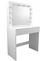 Туалетный столик с зеркалом и подсветкой BROADWAY