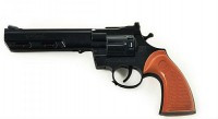 Пистолет 611  трещетка, 20 см, в пакете 25*12 см