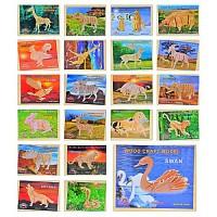 Деревянная игрушка Пазлы MD0475 23 вида, в пленке 23*18.5см