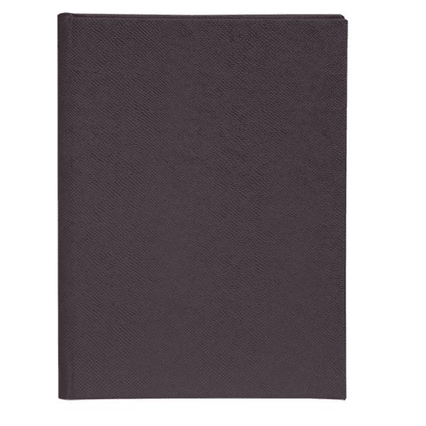 Щоденник недатований PERLA, A5, 288 стор., антрацит