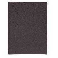 Щоденник недатований PERLA, A5, 288 стор., антрацит, фото 1