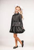 Пиджак школьный с рюшами для девочек, размеры 28, 30, 32, 34, 36. (П-38)