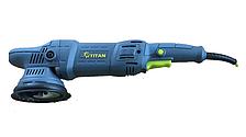 Ротационно-эксцентриковая полировальная машина Титан TDA15 (1050 Вт)
