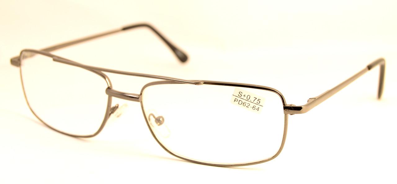 Очки для зрения классика стекло (86002 с)