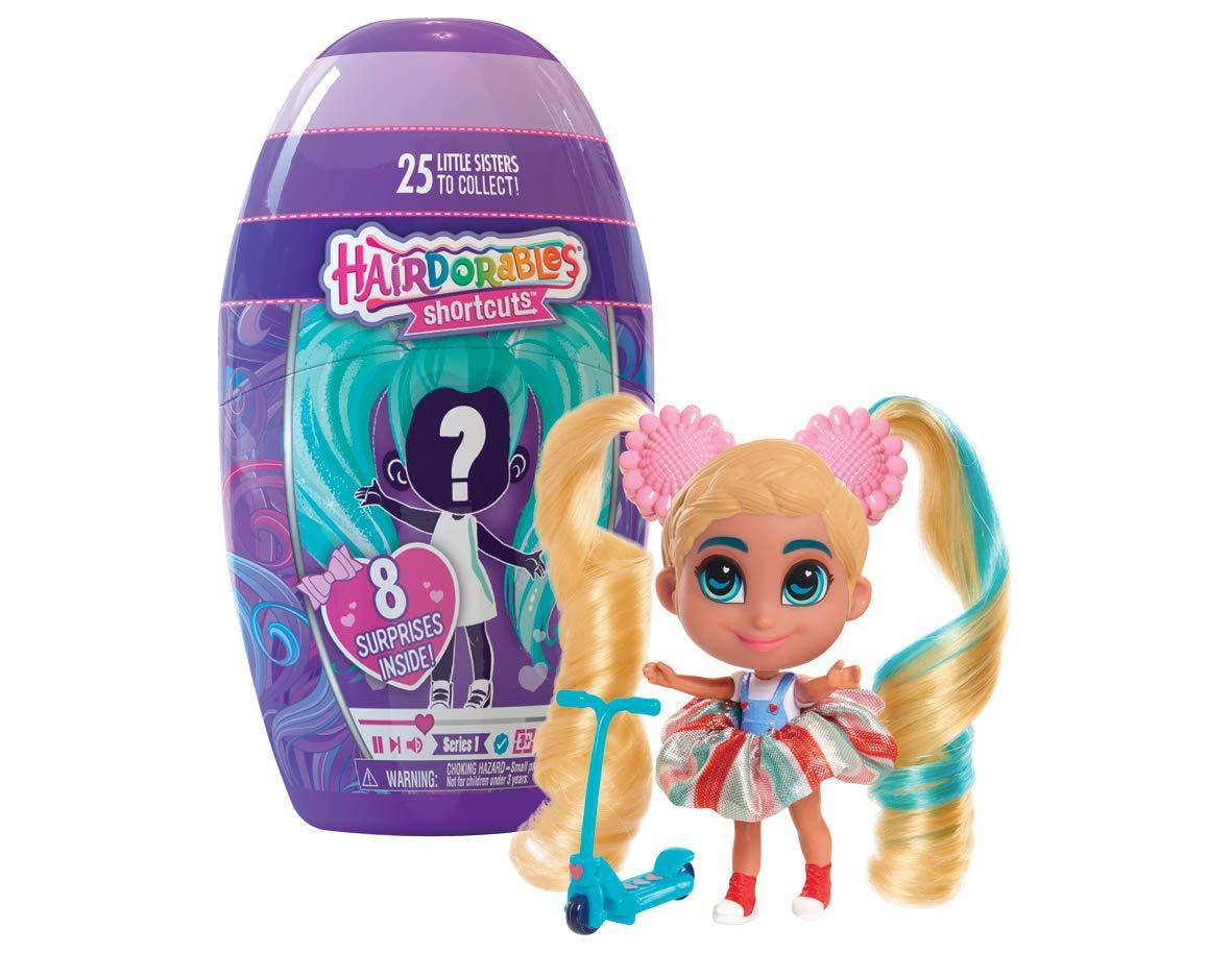Новинка 2019 года! Кукла Хэрдораблс сестра 1 серия Hairdorables Short Cuts Doll- Series 1