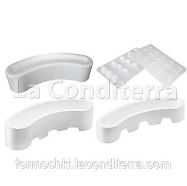 Набор силиконовых форм для десертов SILIKOMART KIT STELLA DEL CIRCO (4 шт.)