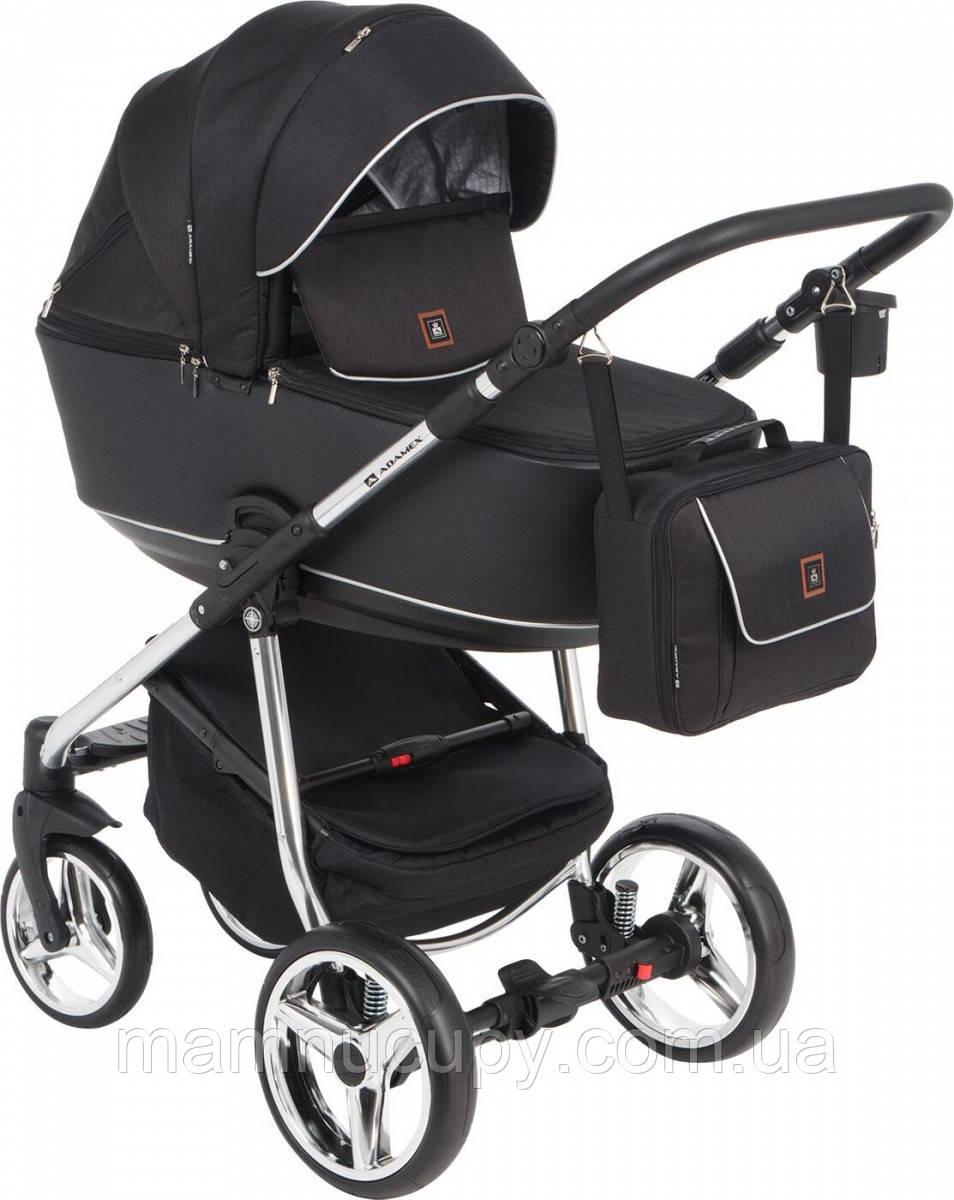 Детская универсальная коляска 2 в 1 Adamex Barcelona Limited Chrom BR-409 (адамекс барселона)