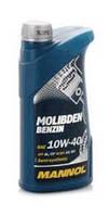 Моторное масло полусинтетическое Mannol (Манол) Molibden Benzin 10w-40 1л