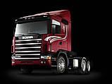 Scania 124 ворсовые коврики (серый-красный) ЛЮКС, фото 2