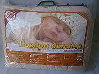 Одеяло и подушка для новорожденного на силиконе