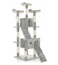 Домик с когтеточкой для кошек  LUCARO 03
