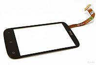 Touchscreen (сенсорный экран) для HTC Desire C A320e, черный, оригинал
