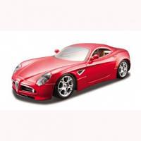 Mодель Alfa 8C Competizipne 2007 красный металлик 1:32
