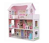Кукольный домик с мебелью 3 ЭТАЖ + МЕБЕЛЬ