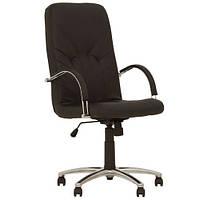 Кресло для руководителя MANAGER (МЕНЕДЖЕР) STEEL CHROME COMFORT ECO