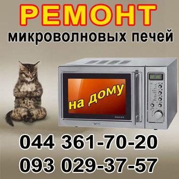 Ремонт микроволновых печей в Киеве