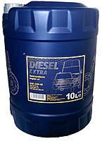 Моторное масло полусинтетическое Mannol (Манол) Diesel Extra 10w-40 10л
