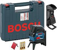 Линейный лазерный нивелир комбинированный Bosch GCL 2-15 Professional (0601066E02)