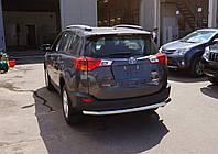 Защита задняя Toyota Rav4 (2013-) /ровная