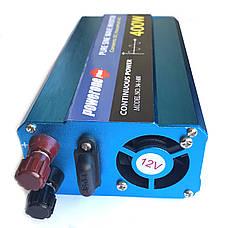 Перетворювач з чистою синусоїдою PowerOne Plus 12V-220V 400W, фото 2