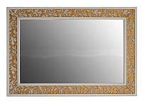 Зеркало Атолл Валенсия 130 дорато (патина золото), 1175х30х815 мм