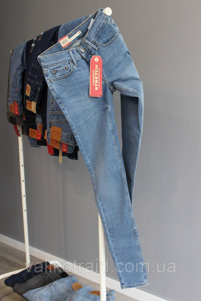 Джинсы оригинал Levi's 710 Super Skinny, размер W25 L32, ЦЕНА 1000 грн