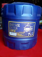Моторное масло полусинтетическое Mannol (Манол) Diesel Extra 10w-40 7л