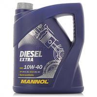 Моторное масло полусинтетическое Mannol (Манол) Diesel Extra 10w-40 5л